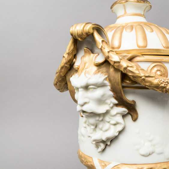 VOLKSTEDT (?) Lid amphora, 19. / 20. Century - photo 3