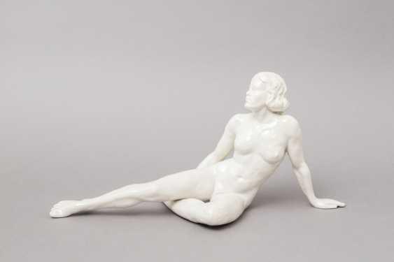 Mountain a seated female Nude, 1896-1906 PRINCE. - photo 1