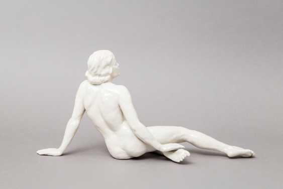 Mountain a seated female Nude, 1896-1906 PRINCE. - photo 2
