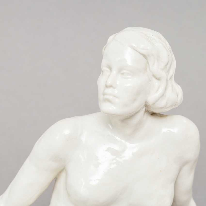 Mountain a seated female Nude, 1896-1906 PRINCE. - photo 3
