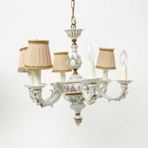 6-burner chandelier, 20. Century - photo 1