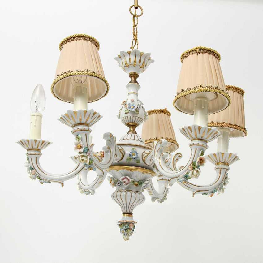 6-burner chandelier, 20. Century - photo 4