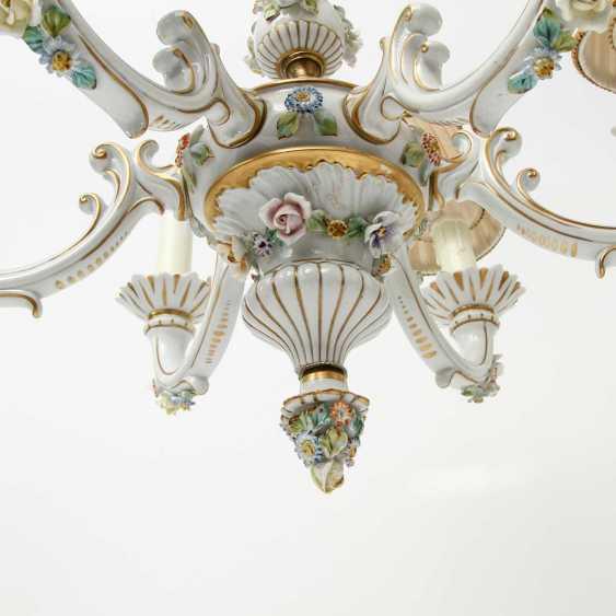 6-burner chandelier, 20. Century - photo 5
