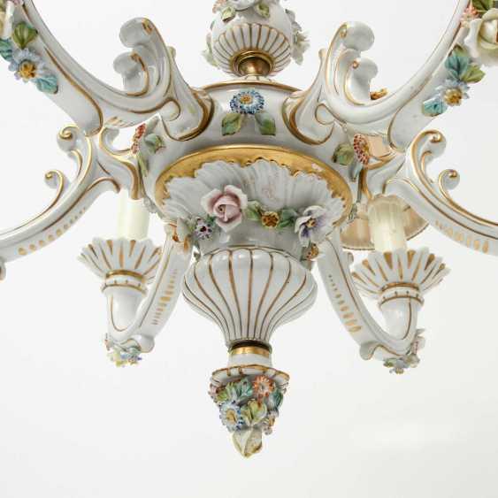 6-burner chandelier, 20. Century - photo 6