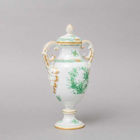 HEREND 3 vases, 20. Century, 1. Choice. - photo 2