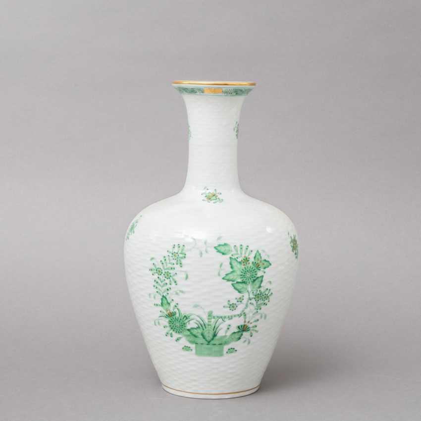 HEREND 3 vases, 20. Century, 1. Choice. - photo 3