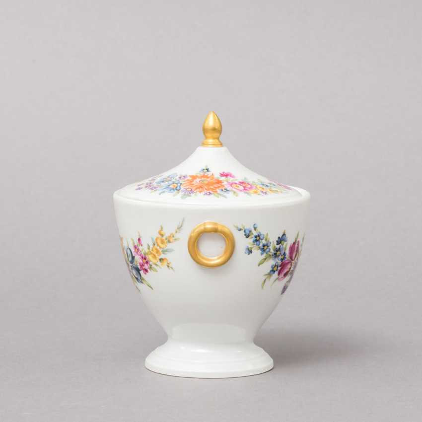 NYMPHENBURG. Small lidded box, brand from 1895 - photo 2
