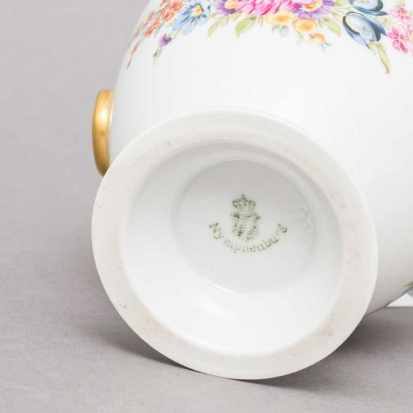 NYMPHENBURG. Small lidded box, brand from 1895 - photo 4