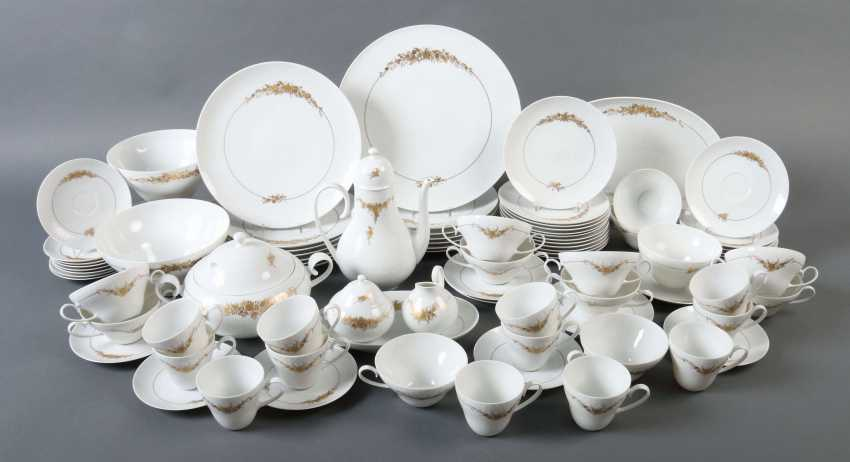 Wiinblad, Björn Copenhagen 1918 - 2006 Lyngby, Danish painter, designer and set designer. Dining and coffee service '' Romance in major '' - photo 2