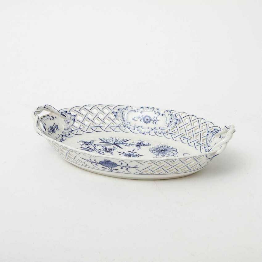 MEISSEN breakthrough Cup 'onion pattern', 1. Choice, 20. Century - photo 1