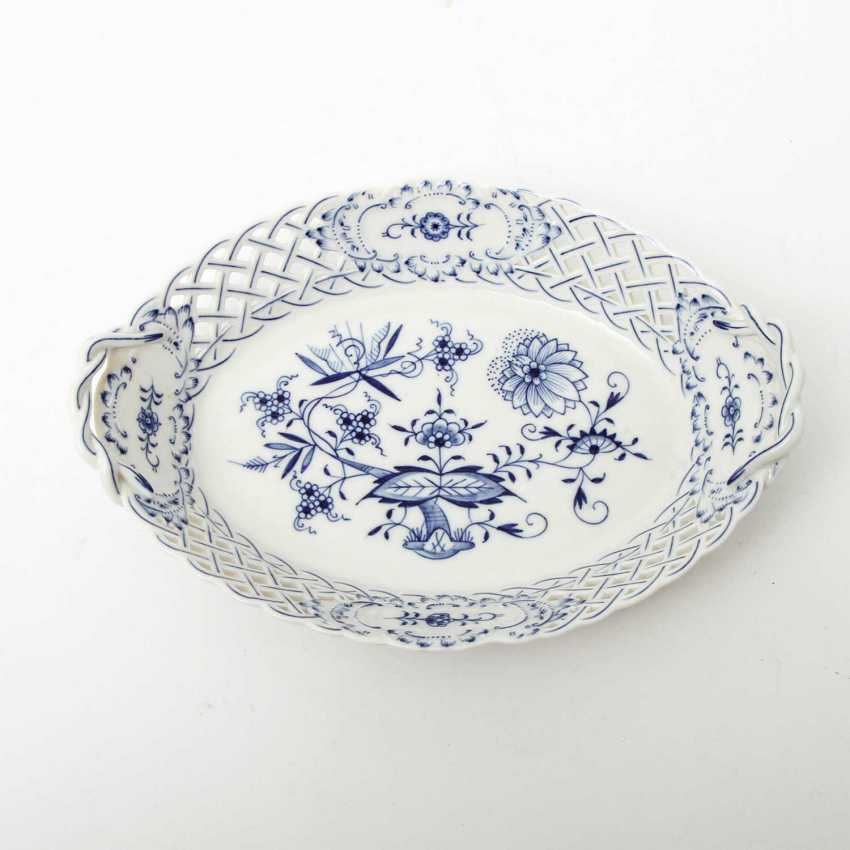 MEISSEN breakthrough Cup 'onion pattern', 1. Choice, 20. Century - photo 2