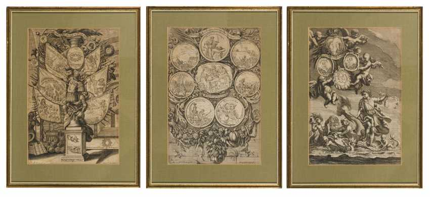 3 depictions from the reign of Emperor Leopold I. - photo 1