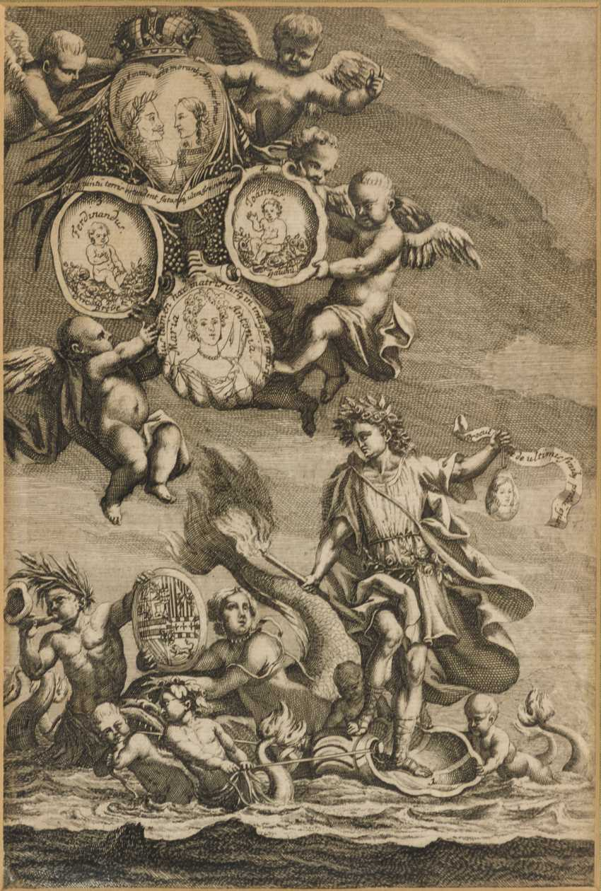3 depictions from the reign of Emperor Leopold I. - photo 4