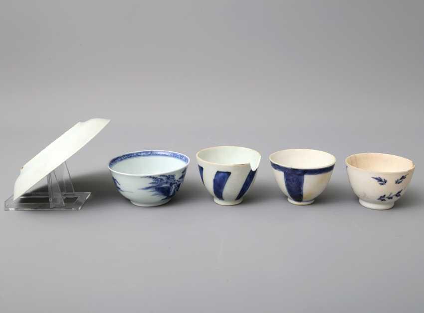KonvoluTiefe: 5 teilig, unter anderem Zwei Teile NANKING CARGO Porzellan. CHINA, um 1753 - photo 4