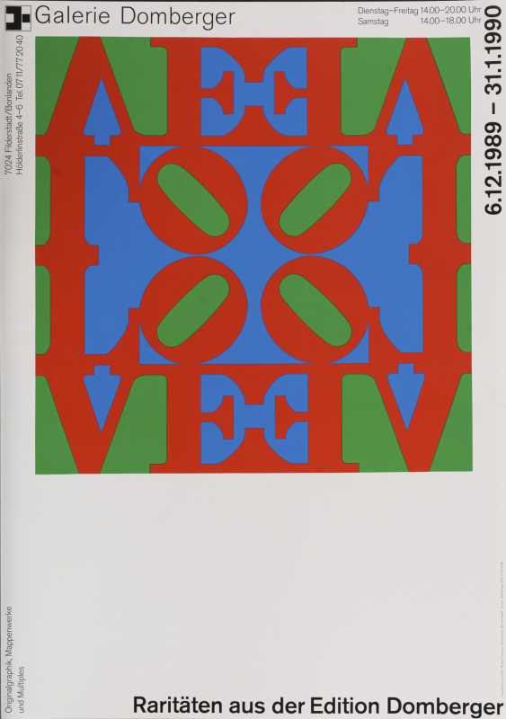 13 exhibition posters from 20th century artists - photo 2