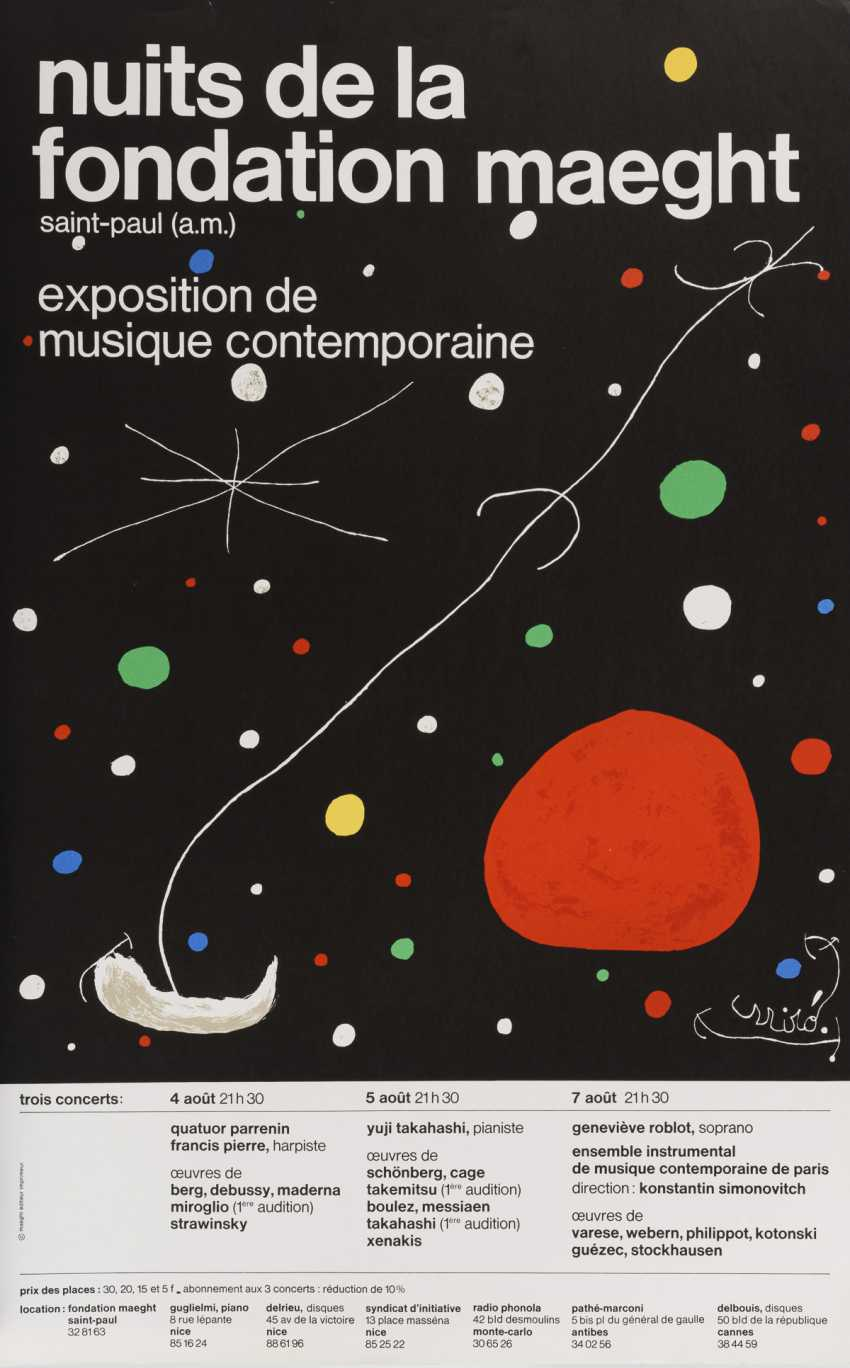 13 exhibition posters from 20th century artists - photo 7