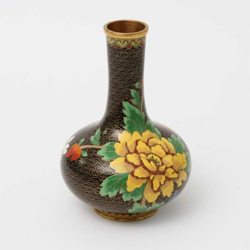 CHINA Cloisonne-Vase, 20. A running commentary - photo 5