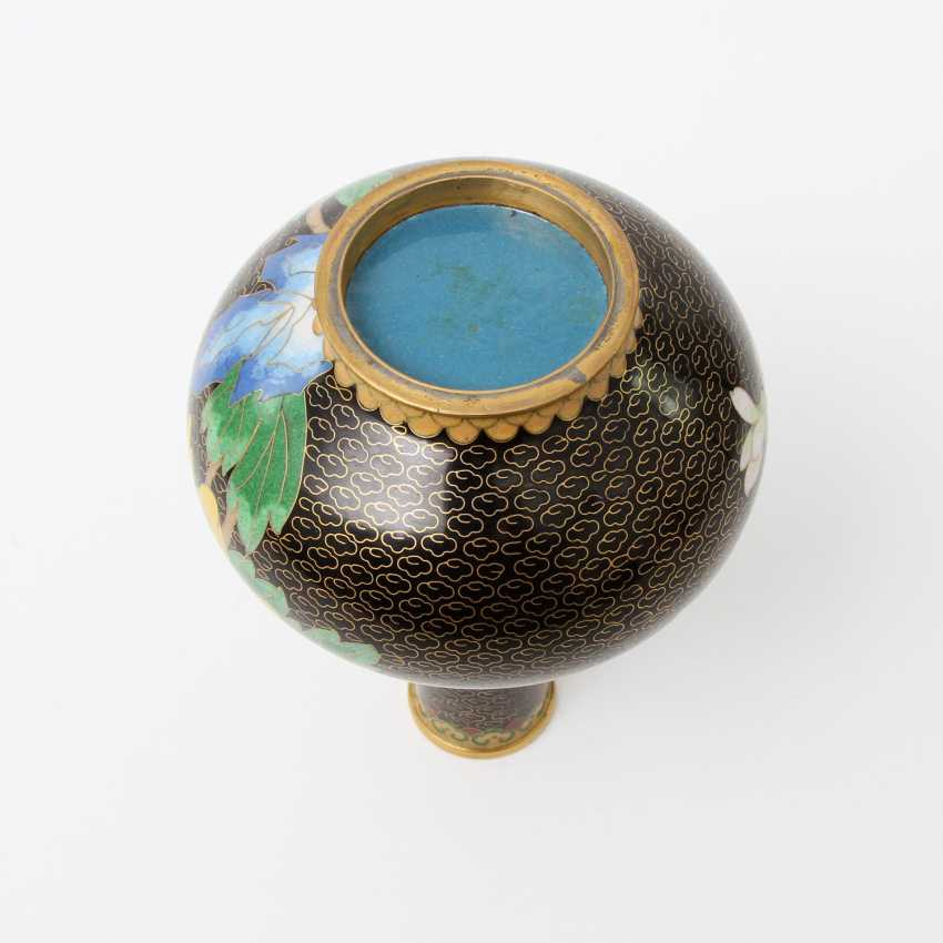 CHINA Cloisonne-Vase, 20. A running commentary - photo 6