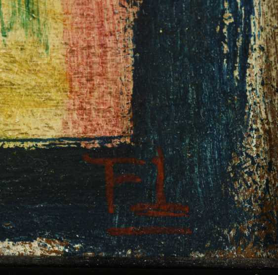 """Monogramist """"FT"""": Deux figures abstraites - photo 2"""