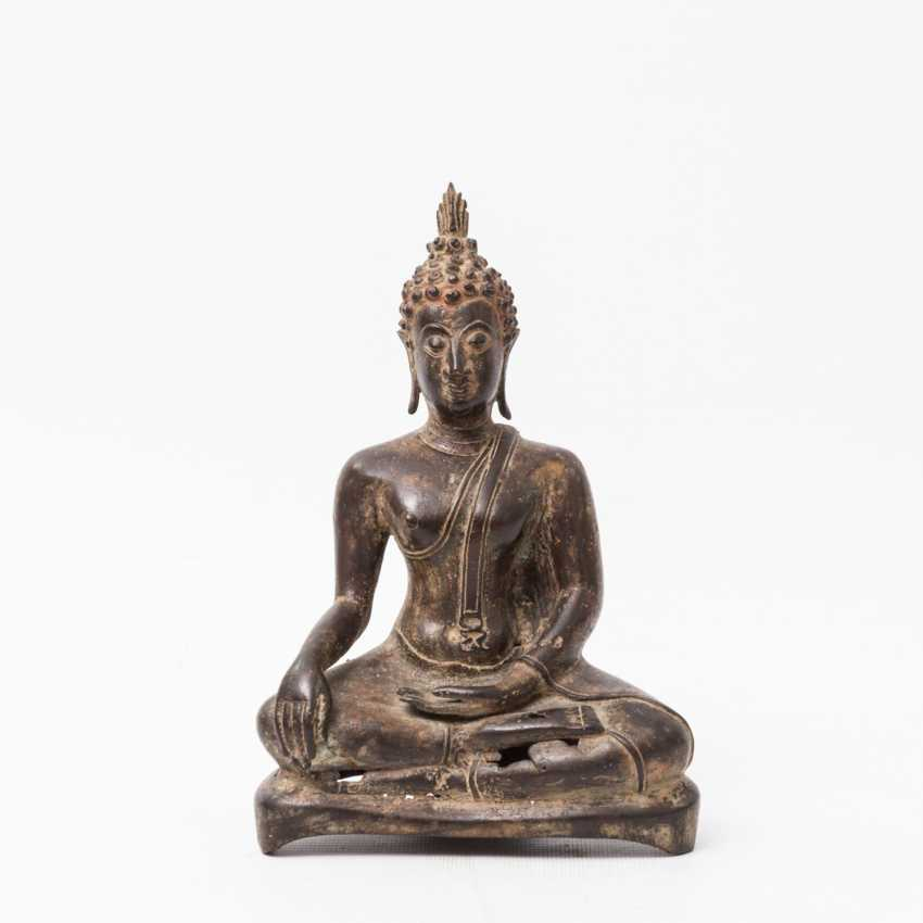 Buddha made of metal, THAILAND, 20. Century - photo 1