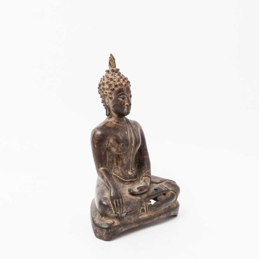Buddha made of metal, THAILAND, 20. Century - photo 2