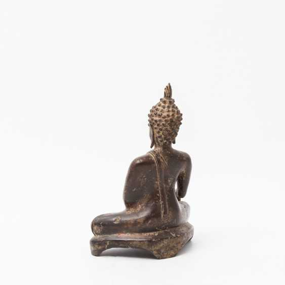 Buddha made of metal, THAILAND, 20. Century - photo 3