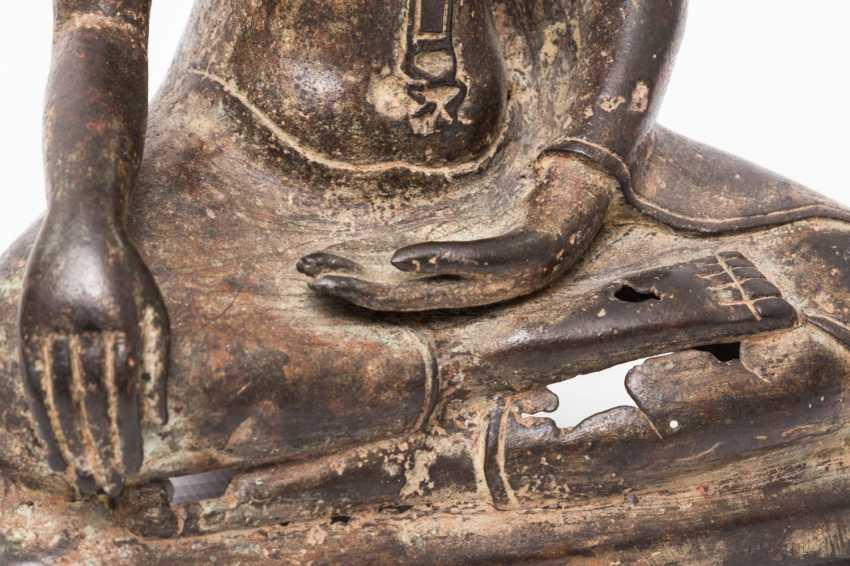 Buddha made of metal, THAILAND, 20. Century - photo 5