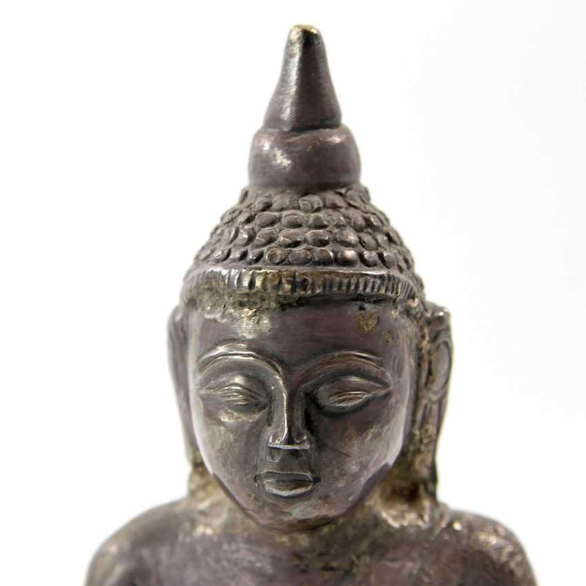 Shakyamuni Buddha representation made of metal. THAILAND, 20. Century - photo 5
