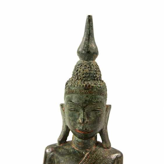 Bronze of Buddha Shakyamuni. THAILAND, probably 19th century. Century - photo 2