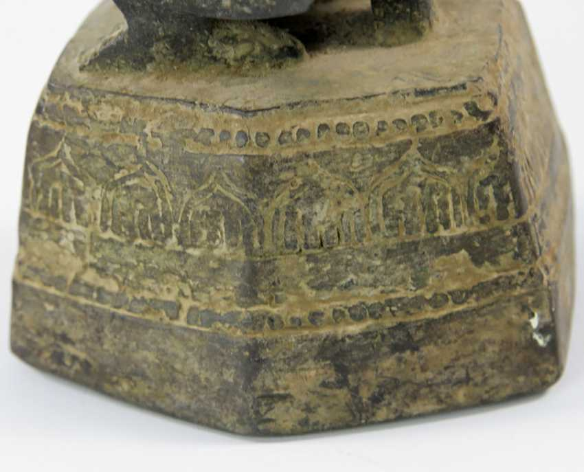 Opium weight duck made of Bronze. Probably BURMA 18. / 19. Century - photo 3