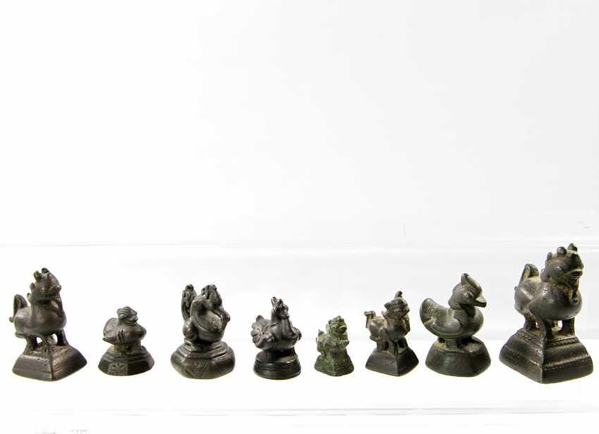 19 opium weights. BURMA, 18. / 19. Century - photo 3