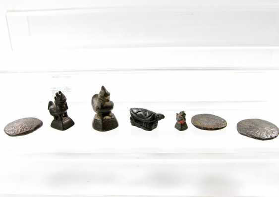 19 opium weights. BURMA, 18. / 19. Century - photo 4
