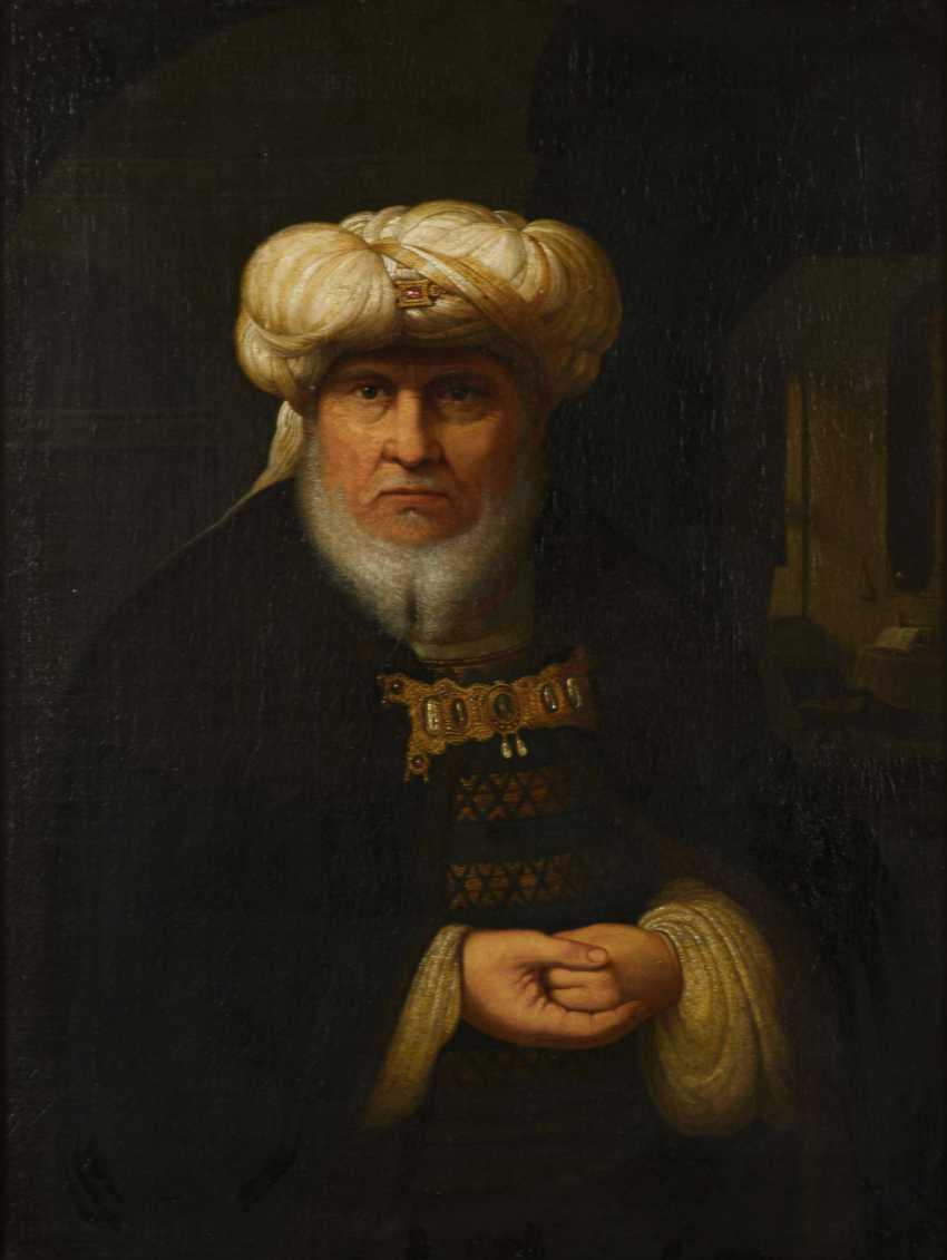 Portrait of an oriental - photo 1