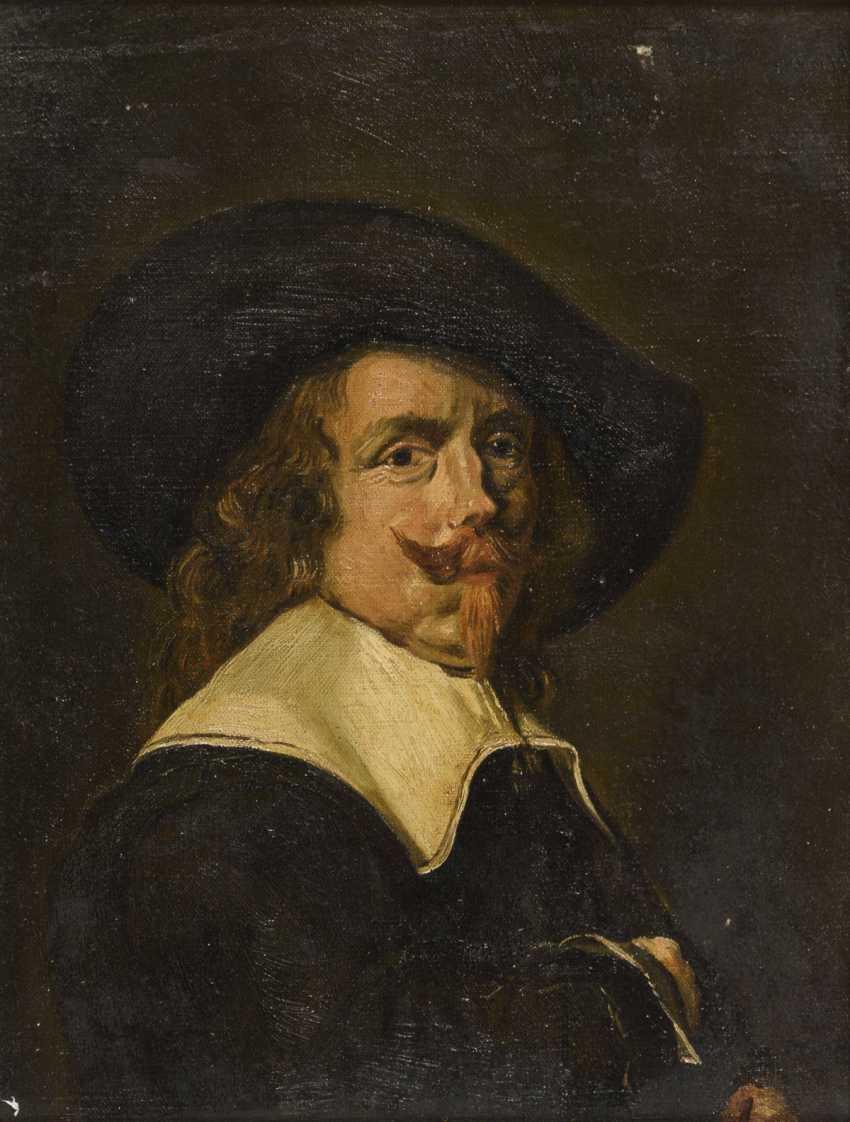 Copy after Frans Hals: Portrait of a gentleman - photo 1