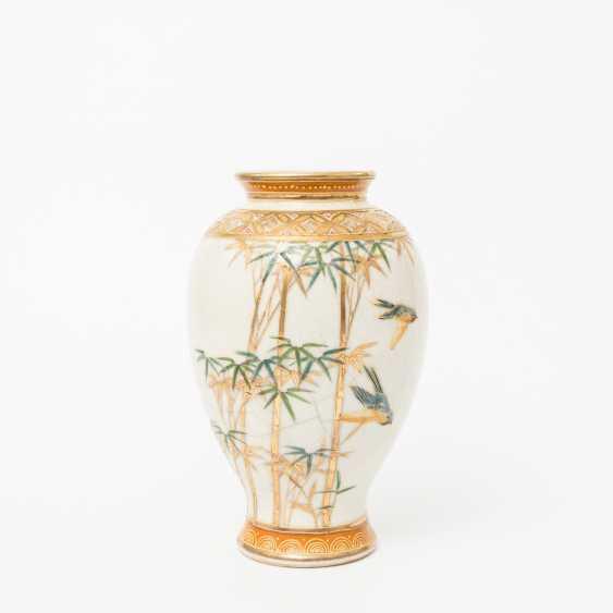 KonvoluTiefe: 5 Vasen im Satsuma-Stil. JAPAN, 20. Jahrhundert - photo 4