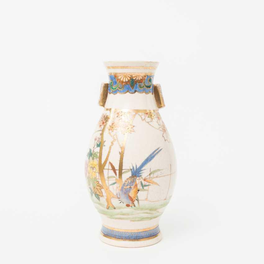 KonvoluTiefe: 5 Vasen im Satsuma-Stil. JAPAN, 20. Jahrhundert - photo 5