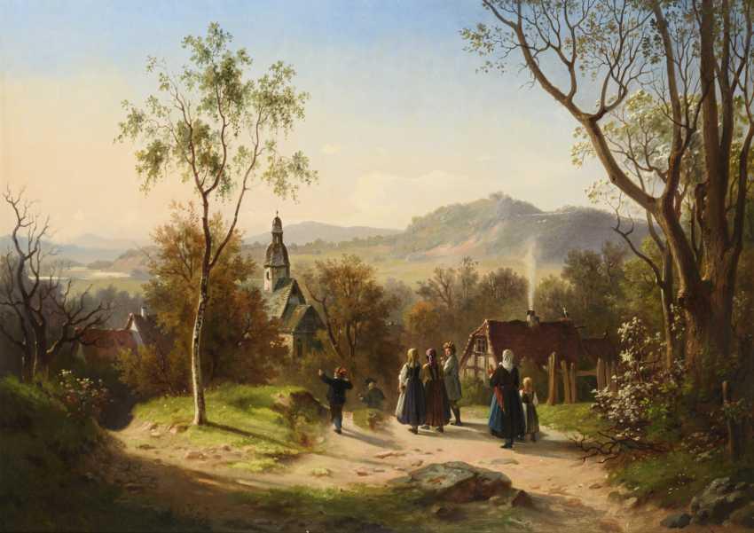 STIEGEL, Eduard (1818 Kassel - 1879 ibid.) - photo 1