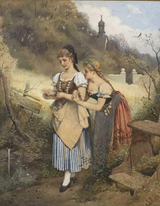 WEHLE, Johannes Raphael (1848 Radeburg - Dresden 1936) - photo 1