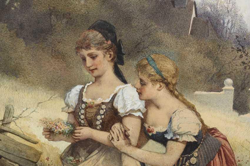 WEHLE, Johannes Raphael (1848 Radeburg - Dresden 1936) - photo 2