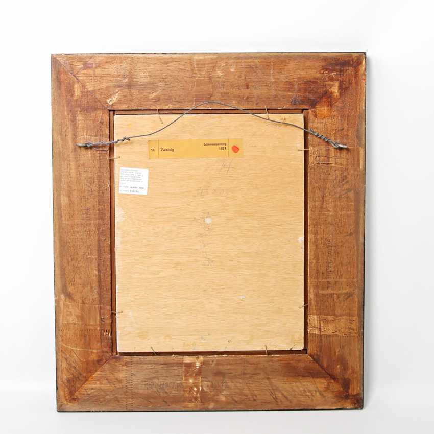 """Mold penning, JOCHEN (1948): """"Zweisig"""", 1974, - photo 3"""