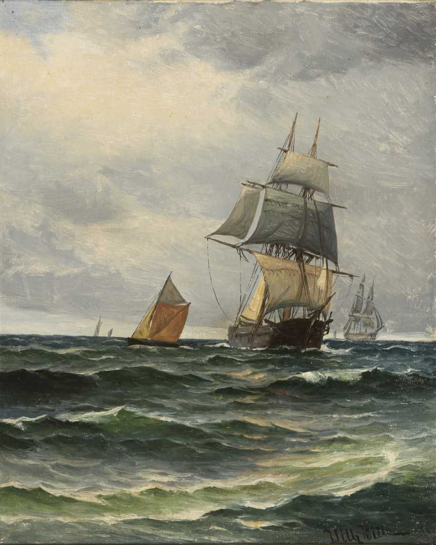 BILLE, Vilhelm Victor (1864 Copenhagen - 1908 ebd.) - photo 1