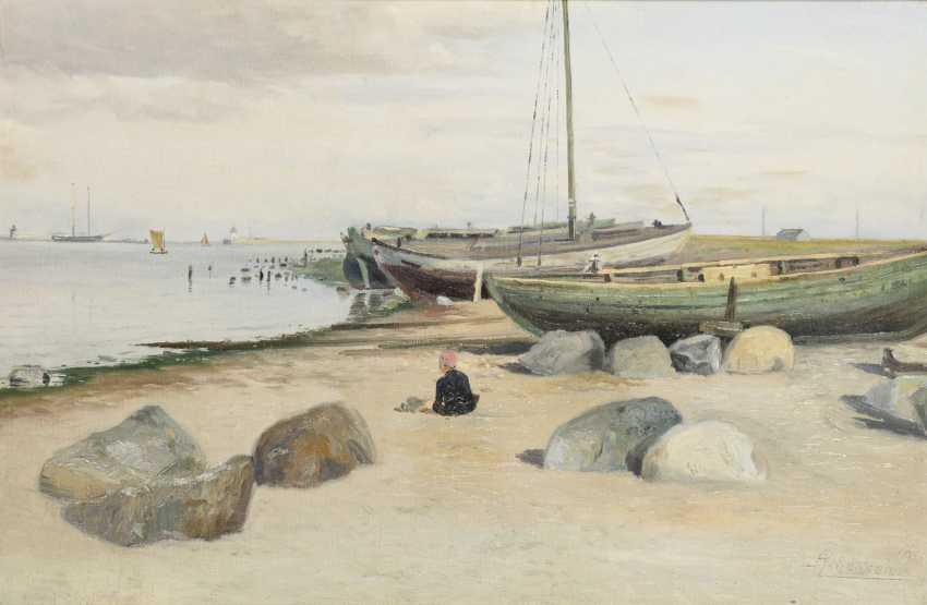 JOHANSEN, Axel (1872 Roskilde- 1938 Copenhagen) - photo 1