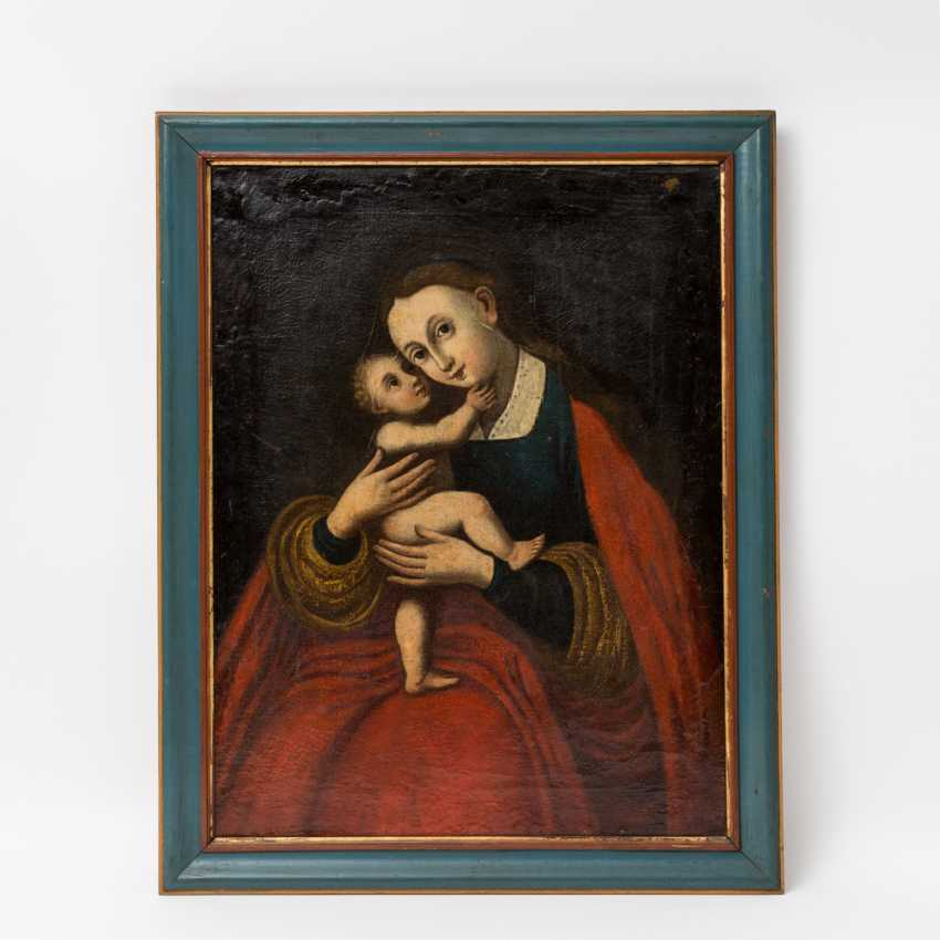 "PAINTER of the 18th century. / 19. Century, ""The South Tyrolean Mother Of God"", - photo 2"