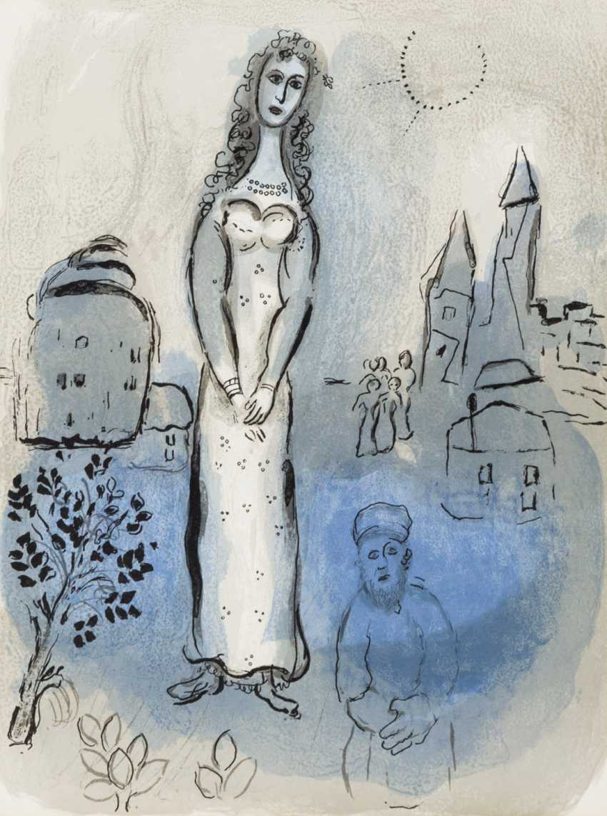 "CHAGALL, MARC (1887-1985), ""Esther"" from illustrations for the ""Bible"", - photo 1"