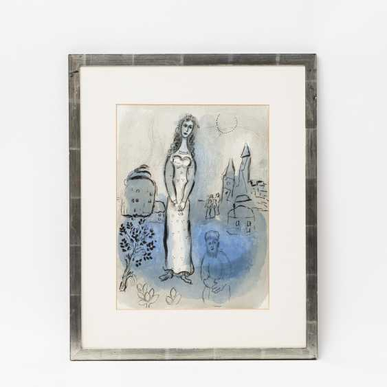 "CHAGALL, MARC (1887-1985), ""Esther"" from illustrations for the ""Bible"", - photo 2"
