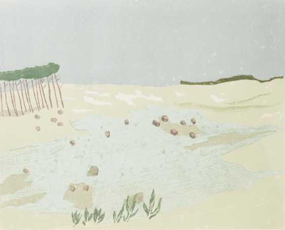 """FÖRCH, ROBERT (geb. In 1931, Künzelsau, Germany), """"Behind the dunes"""", - photo 1"""