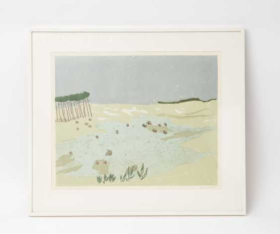 """FÖRCH, ROBERT (geb. In 1931, Künzelsau, Germany), """"Behind the dunes"""", - photo 2"""