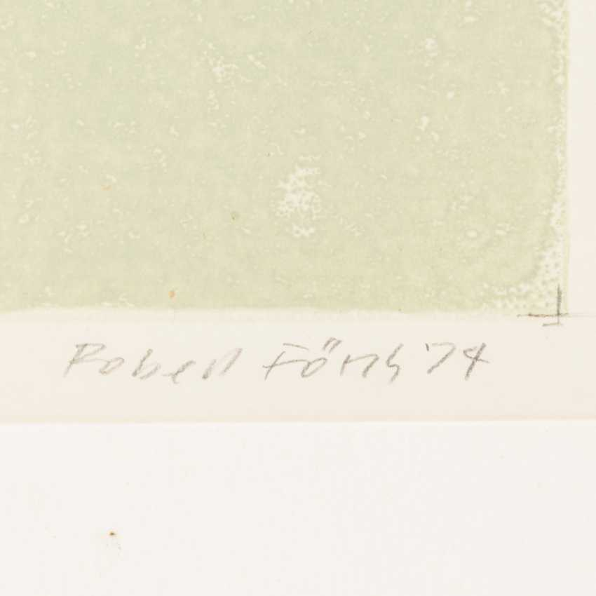 """FÖRCH, ROBERT (geb. In 1931, Künzelsau, Germany), """"Behind the dunes"""", - photo 3"""