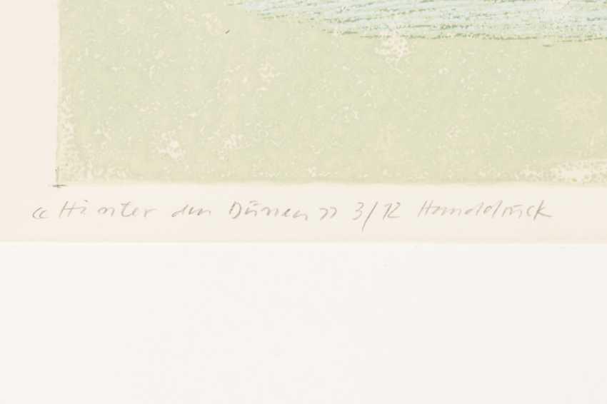 """FÖRCH, ROBERT (geb. In 1931, Künzelsau, Germany), """"Behind the dunes"""", - photo 4"""