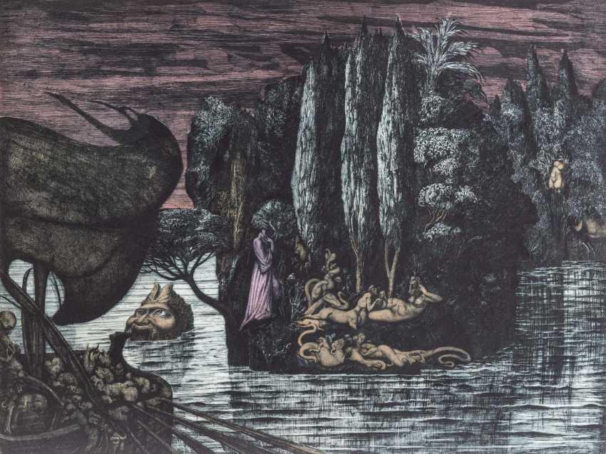 "FUCHS, ERNST (1930-2015), ""dead island"", - photo 1"